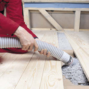 podłogi istropy isofloc